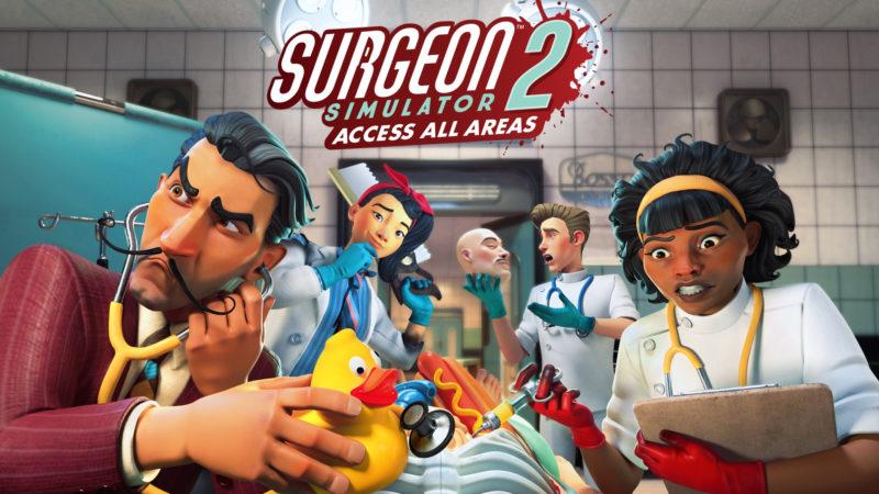 Surgeon Simulator 2: Access All Areas sarà presto disponibile su Xbox Game Pass
