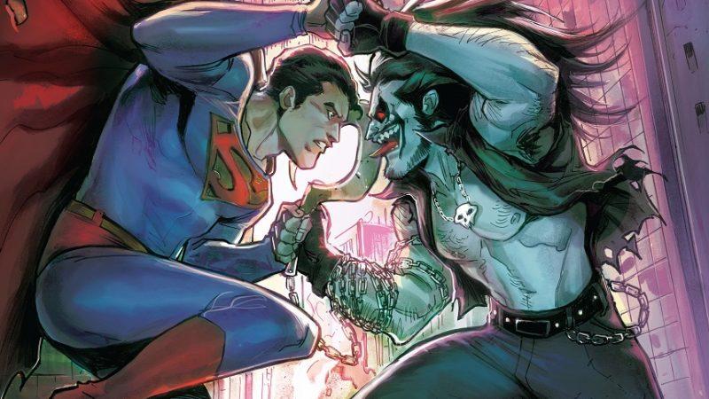 "La serie a fumetti ""Superman vs. Lobo"""