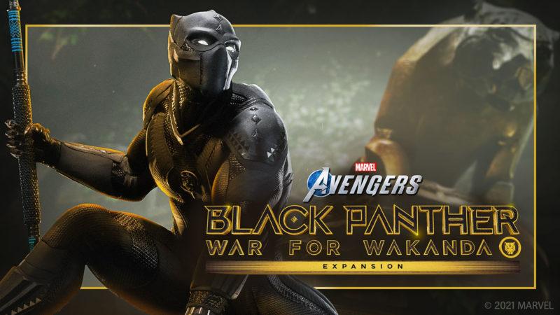 L'espansione Guerra per Wakanda del videogioco  Marvel's Avengers