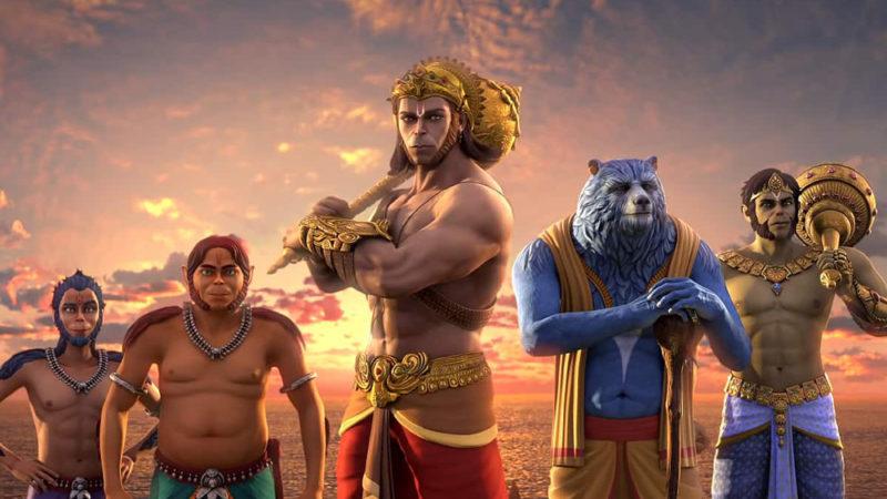 """""""The Legend of Hanuman"""" il successo di spettatori in India"""