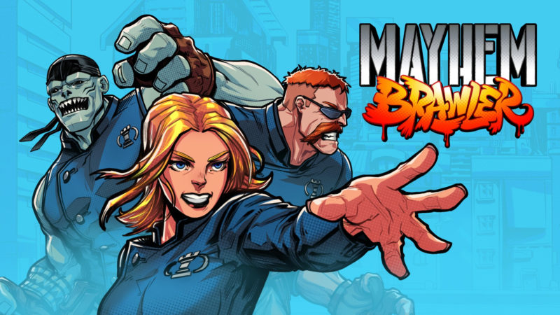 Mayhem Brawler il picchiaduro ispirato agli Arcade degli anni '90 uscirà il 19 agosto