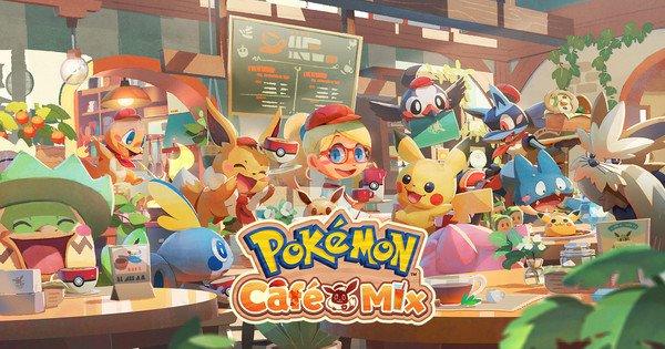 Il nuovo puzzle game Pokémon Café Remix uscirà in autunno