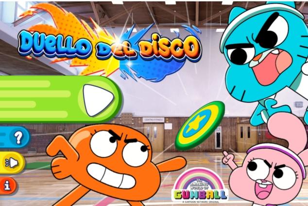 In gioco online gratis di Gumball – Duello del disco