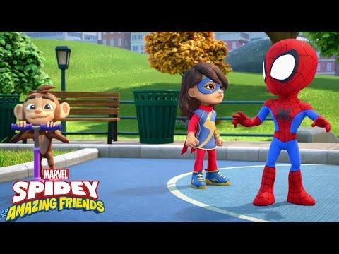 """Guarda il video Marvel Spidey e i suoi fantastici amici """"Alla ricerca delle scimmiette"""""""