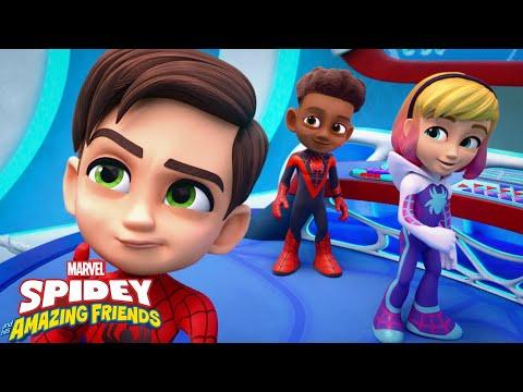 """Guarda il video Marvel Spidey e i suoi fantastici amici """"WEB-STER"""""""