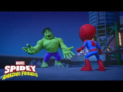 Guarda il video Marvel Spidey e i suoi fantastici amici – Hulk viene in aiuto