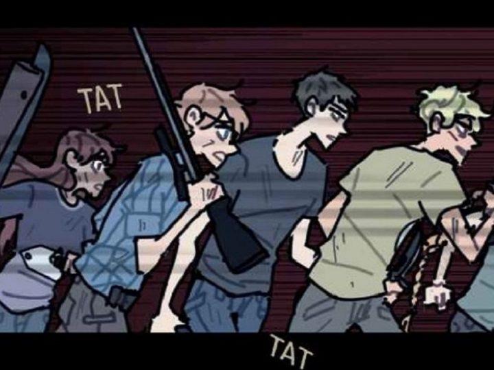 Fumetti online gratuiti: i mostri di School bus graveyard
