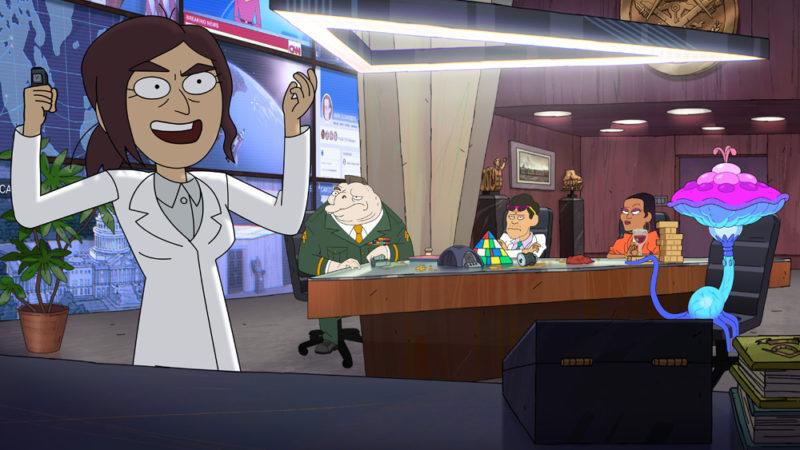 Inside Job la nuova serie per adulti sulle cospirazioni da ottobre su Netflix