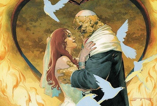 Il fumetto dei Fantastici Quattro 2  – Il matrimonio fra La Cosa e Alicia