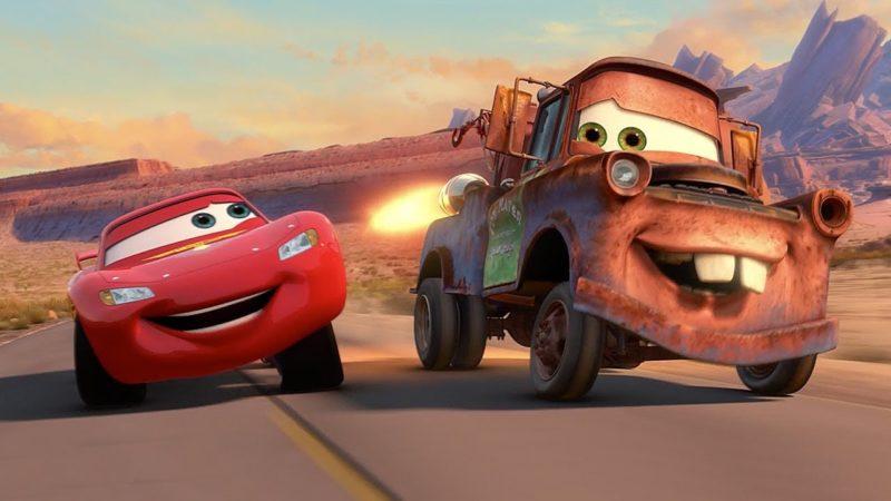 Guarda il video Pixar Cars  – Cricchetto gareggia nel Grand Prix