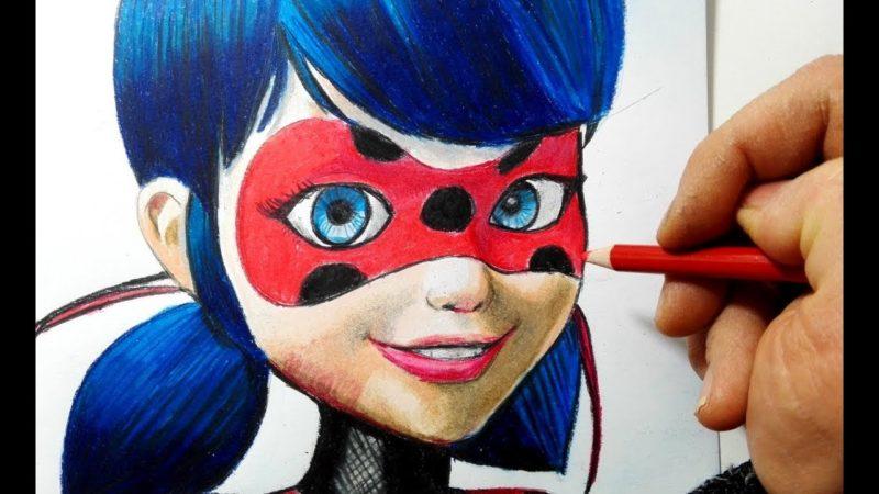 Come disegnare e colorare Ladybug di Miraculous