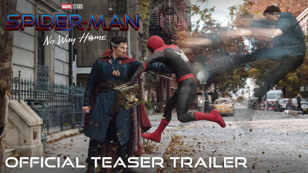 Spider-Man: No Way Home il trailer ufficiale del teaser