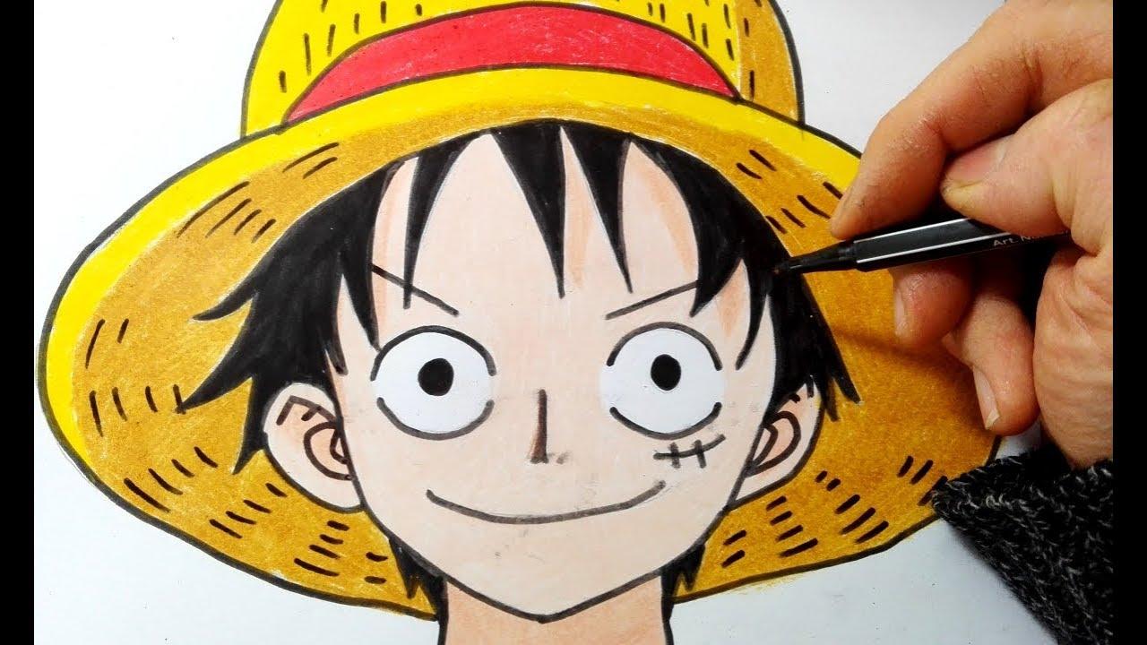 Come disegnare Monkey Rufy di One Piece