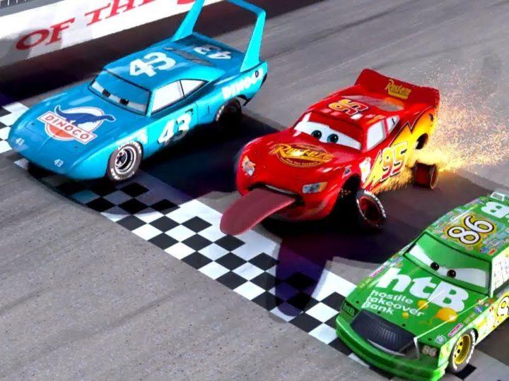 """Guarda il video """"Saetta perde le gomme"""" dal film   Pixar Cars su Disney Junior IT"""