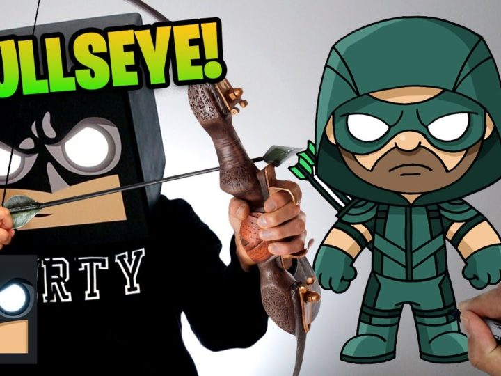 Come disegnare Green Arrow (Freccia verde) | Tutorial passo dopo passo