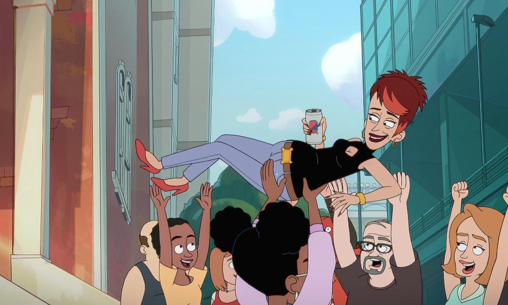 """Il trailer della serie per adulti """"Chicago Party Aunt"""" su Netflix"""