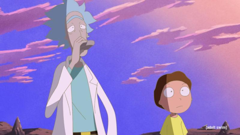 Rick e Morty reinterpretato con uno stile anime