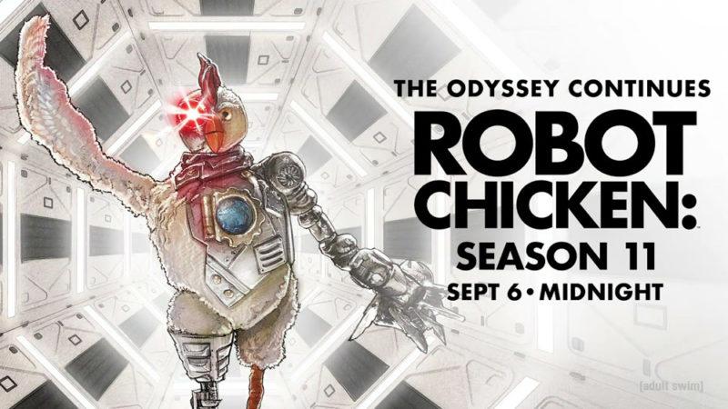 """La stagione 11 di """"Robot Chicken"""" inizierà il 6 settembre su Adult Swim"""