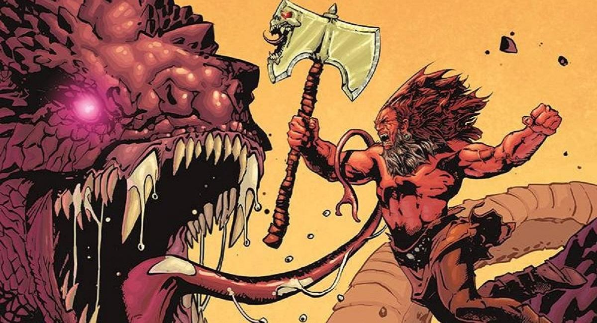 I fumetti fantasy di Vault diventano BARBARIC nel 2022
