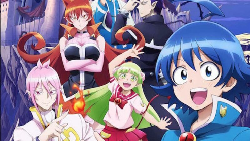 La storia e i personaggi dell'anime manga Welcome to Demon School! Iruma-kun