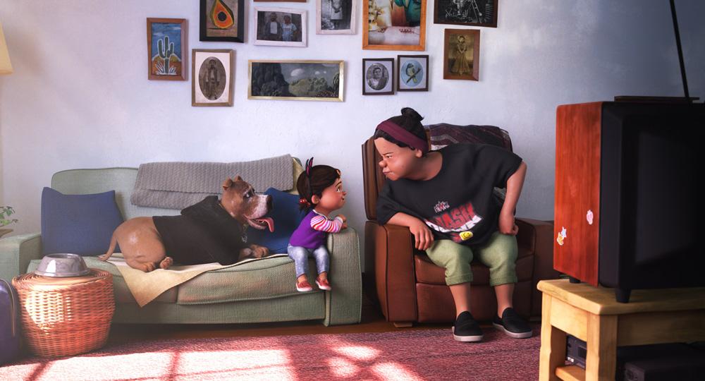 Nona (Pantaloncini Pixar Spark)