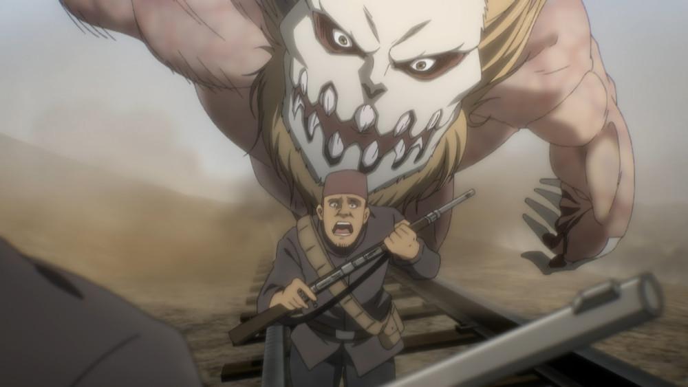 """Attack on Titan: The Final Season ©Hajime Isayama, KODANSHA/""""ATTACK ON TITAN"""" The Final Season Production Committee."""
