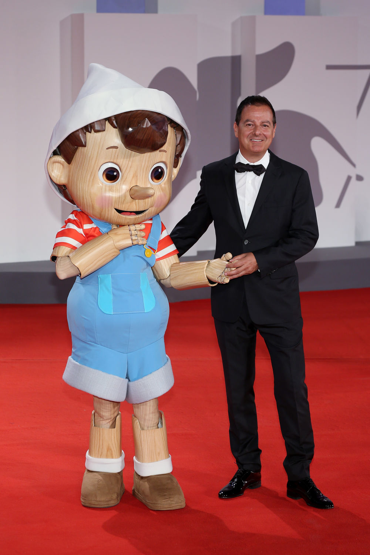 Pinocchio e Iginio Straffi