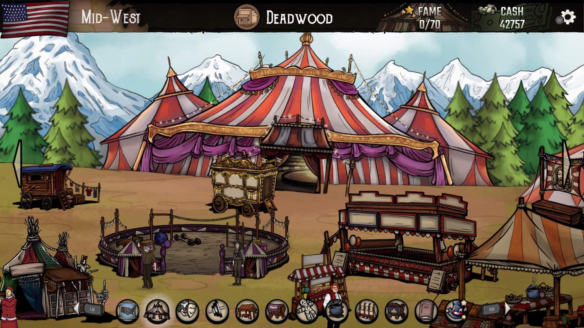 The Amazing American Circus – 16 settembre