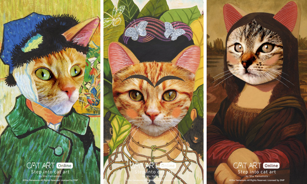 Filtro Instagram CAT ART