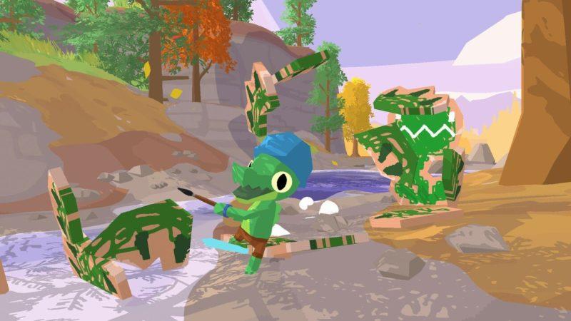 Il gioco Lil Gator è un'avventura adorabile su Switch