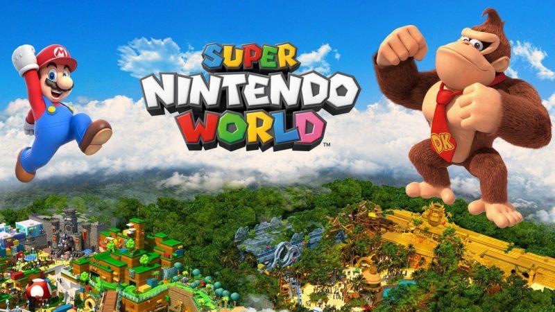 Il parco a tema di Super Nintendo World sarà dedicato anche a Donkey Kong