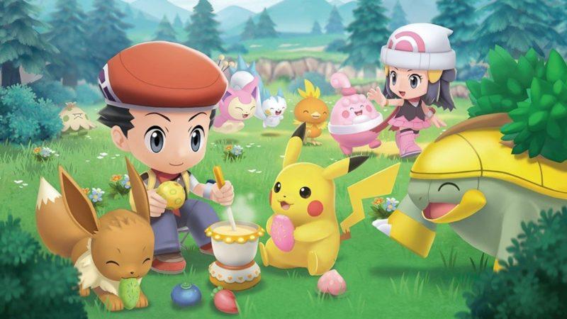 Il trailer di Pokémon Brilliant Diamond & Shining Pearl mostra la nuova app
