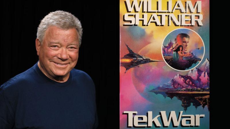 """William Shatner collabora con Pure Imagination per il cartone animato """"TekWar"""""""