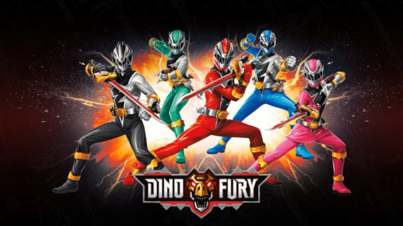 Power Rangers Dino Fury – La nuova serie dal 18 ottobre su Boing