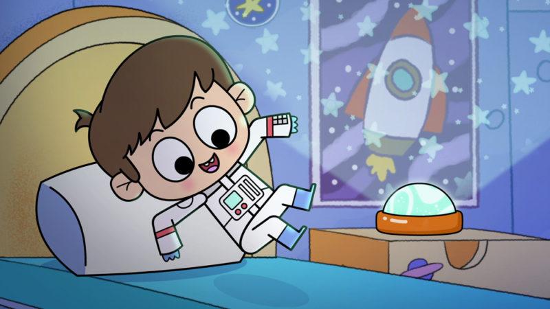 Adam ❤ Adventure! la serie  in età prescolare ambientata nello spazio