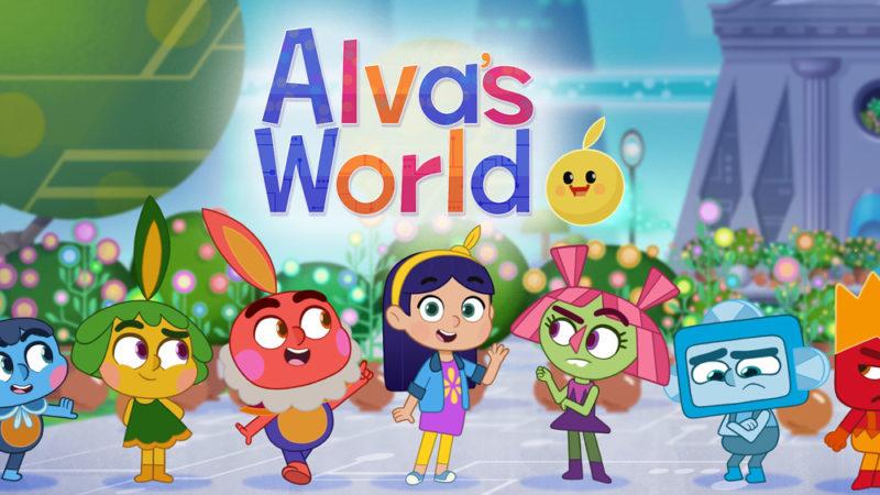 Alva's World (Il mondo di Alva) il cartone animato sulla sicurezza online