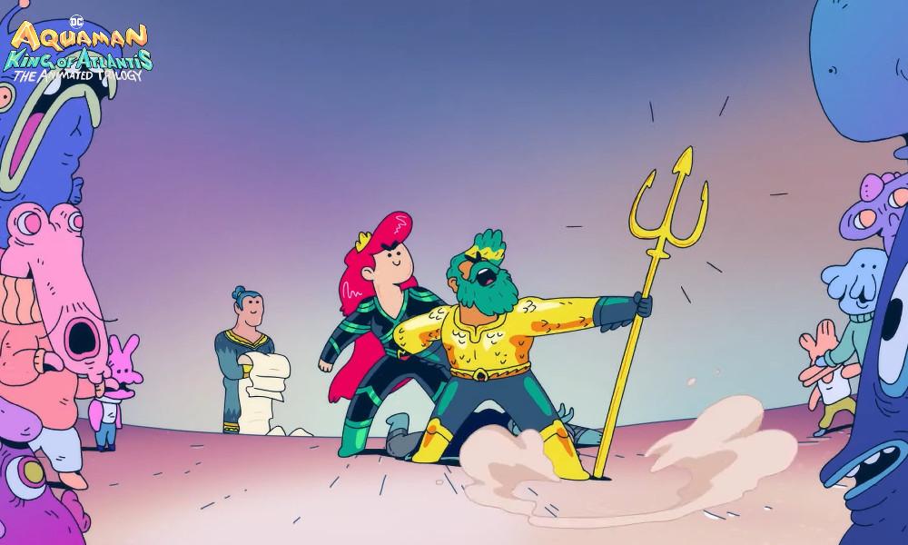 Aquaman: King of Atlantis – La minserie della Warner e DC