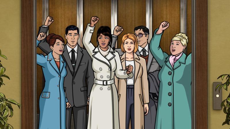 La tredicesima stagione di Archer, vincitrice di un Emmy, si rinnova