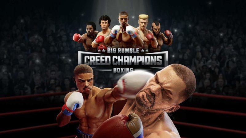 Il videogioco sul pugilato Big Rumble Boxing: Creed Champions