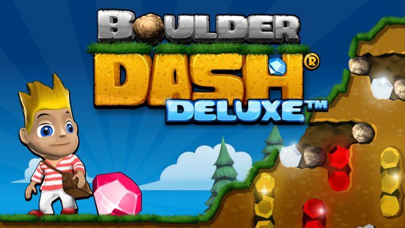 Il videogioco Boulder Dash Deluxe