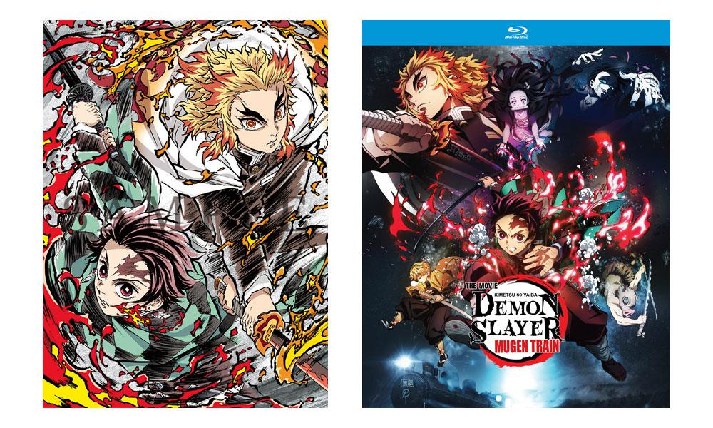 """Il film """"Demon Slayer: Infinity Train"""" in Blu-ray a dicembre"""