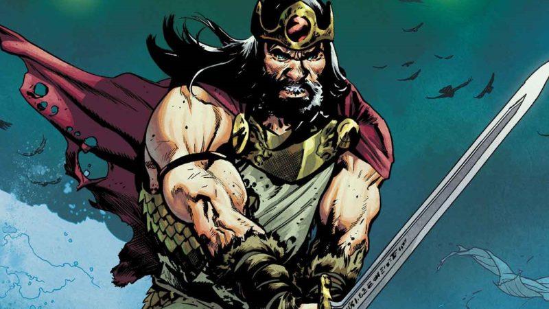 La miniserie a fumetti di  King Conan