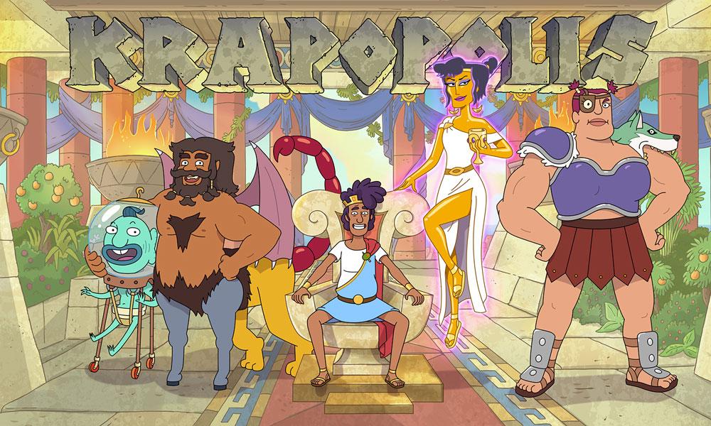 """I doppiatori della serie animata""""Krapopolis"""" di Dan Harmon"""