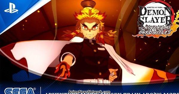 Il trailer del videogioco Demon Slayer: Kimetsu no Yaiba
