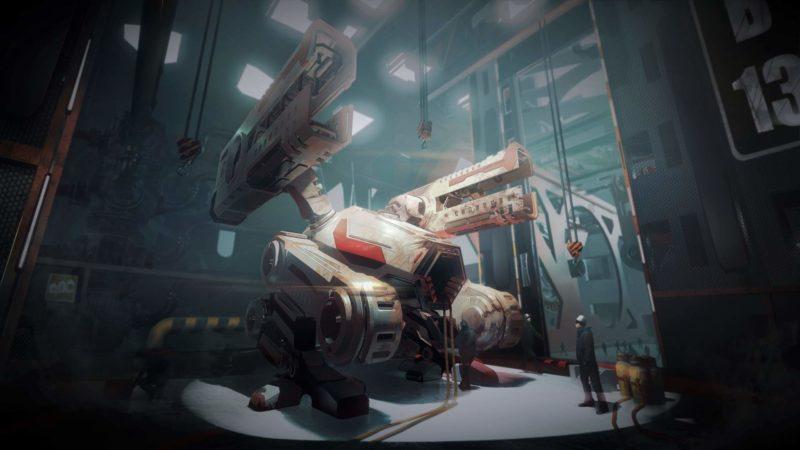 Il videogioco Mech Mechanic Simulator sulla simulazione meccanica dei robot