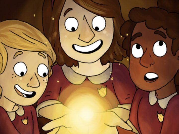 """Il web comics gratuito """"Principles of Magic""""(Principi di magia) di Sarah Hopkins"""