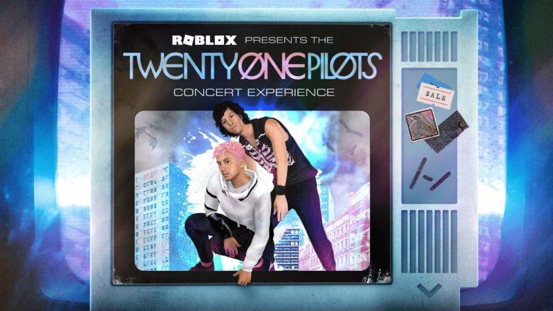 Unisciti all'esperienza del concerto virtuale di Twenty One Pilots su Roblox