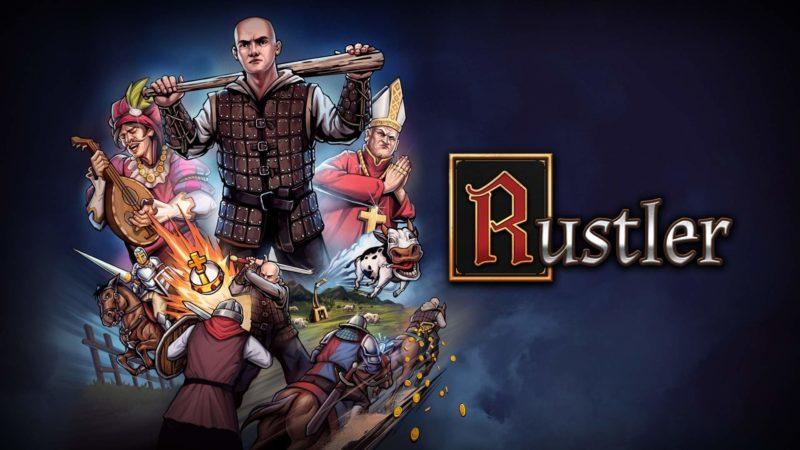 Il videogioco medioevale Rustler per Xbox
