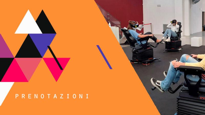 VRE – Virtual Reality Experience arriva nella città di MODENA il 9-10 e 11 Settembre