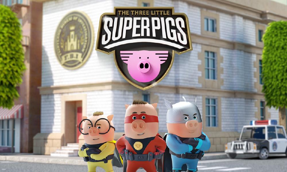 """La serie animata """"Superpigs"""" di Fourth Wall e Planeta Junior"""